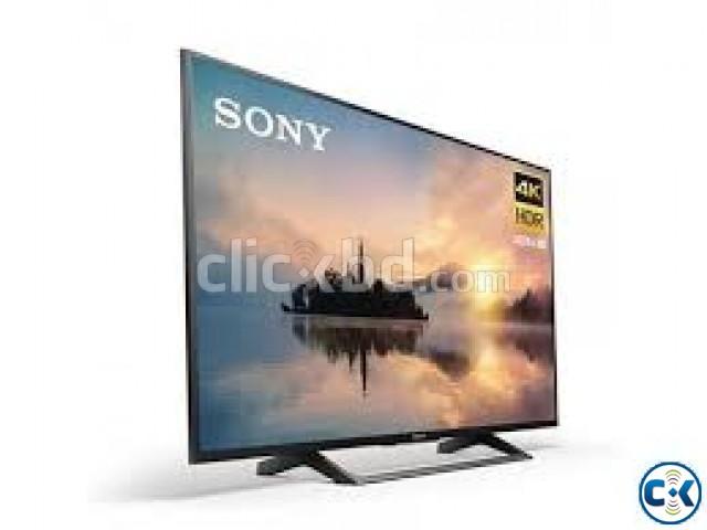 43 Inch Sony X7000E 4K Smart LED TV | ClickBD large image 1