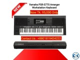 Yamaha PSR S770 61-Key Arranger Workstation Keyboard.