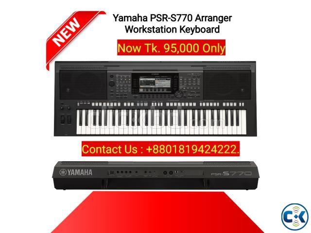 Yamaha PSR S770 61-Key Arranger Workstation Keyboard. | ClickBD large image 0