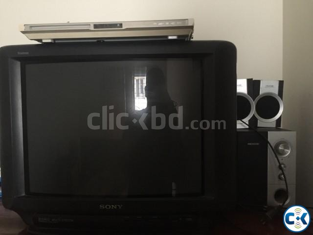 SONY 21 TV DVD player 2 1 sound system | ClickBD large image 0