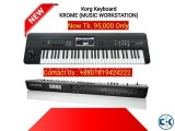 Korg Keyboard - KROME 61-Key MUSIC WORKSTATION.