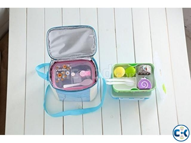 Insulated Lunch Carrier Waterproof Bag for School Office | ClickBD large image 1