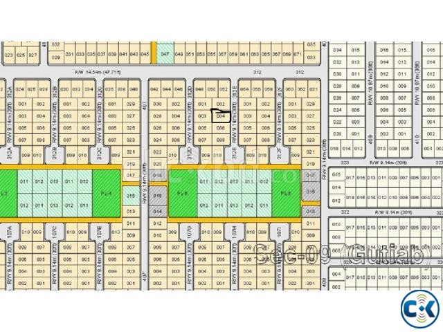 Rajuk Purbachal Plot For Sale | ClickBD large image 0
