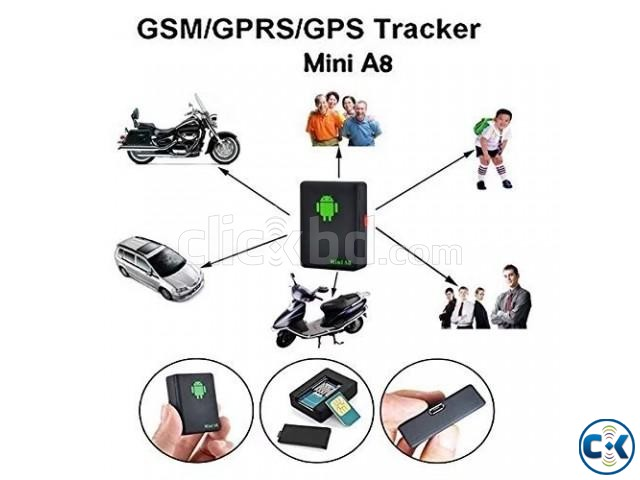 A8 Mini GPS Tracker with Voice Listening 01618657070 | ClickBD large image 1