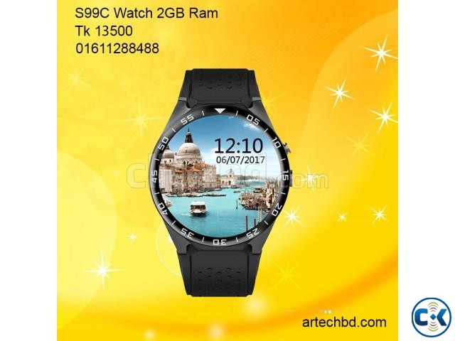 3g smartwatch phone price in bangladesh | ClickBD large image 0