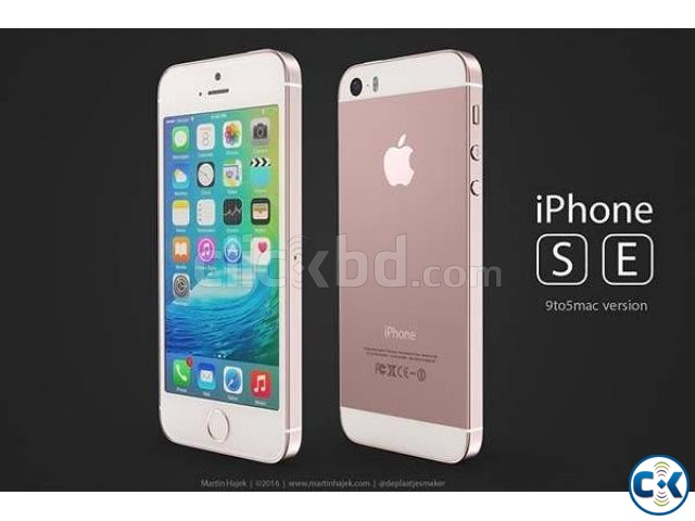 Brand New Apple iphone SE 32GB Sealed Pack 3 Yr Warranty | ClickBD large image 0