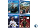 PS4 all brand new games with best price in BD