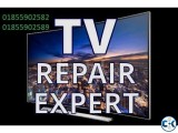 All LCD-LED-3D TV Repair Service with Warranty in Dhaka.