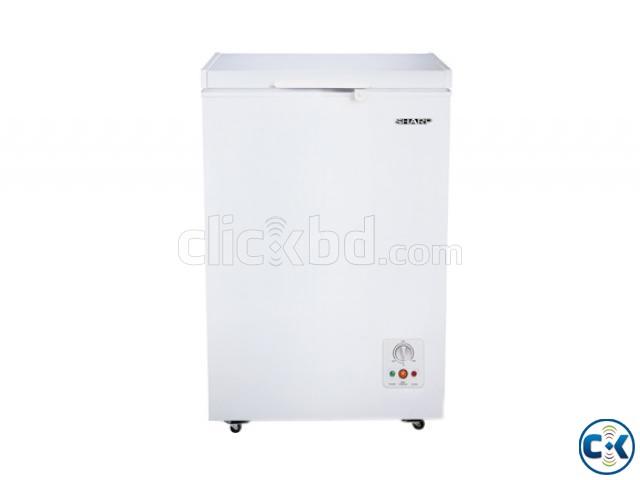 Sharp Freezer SJC-105-WH Capacity 120 Litres | ClickBD large image 0