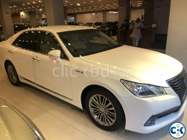 TOYOTA CROWN G HYBRID PEARL 2013 | ClickBD large image 0