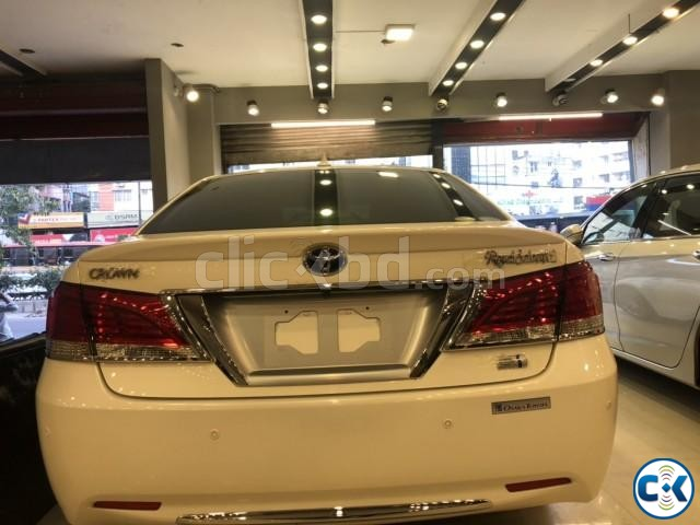 TOYOTA CROWN G HYBRID PEARL 2013 | ClickBD large image 4