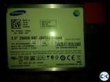 256 Samsung SSD Sata 3.0 Gbps