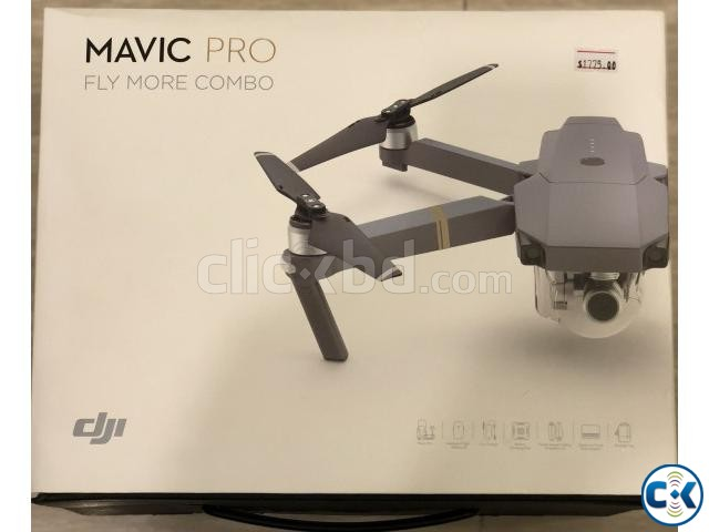 DJI Mavic Pro Quadcopter Fly More Combo | ClickBD large image 1