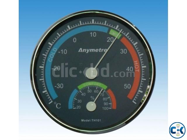 Dry wet Weather Thermo-hygro Comfortable Meter | ClickBD large image 0
