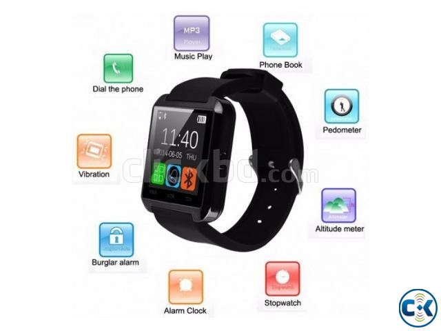 U8 Bluetooth Smart Watch | ClickBD large image 0