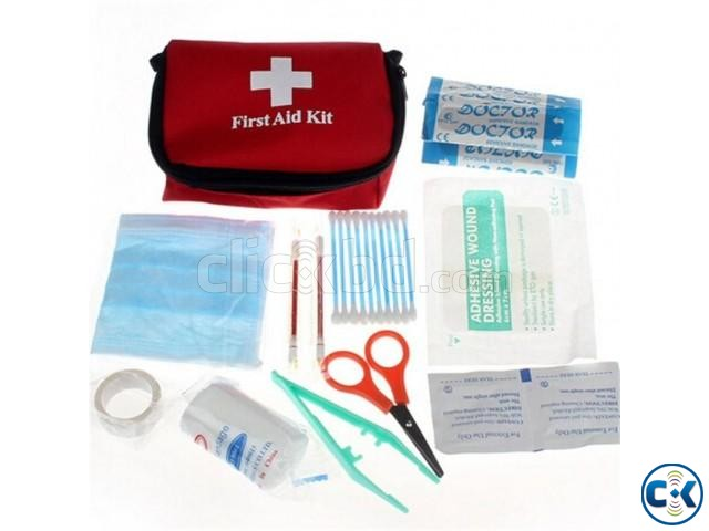 Emergency First Aid Kit Bag for Car Home Traveling Camping | ClickBD large image 2