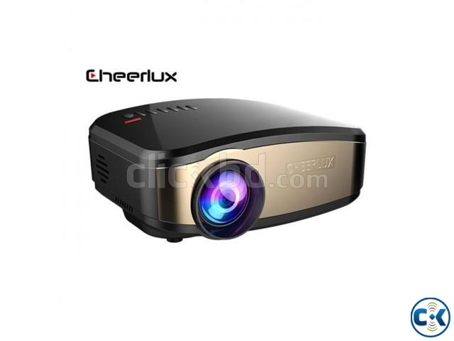Cheerlux C6 Mini LED Projector With built-in TV Card | ClickBD large image 1