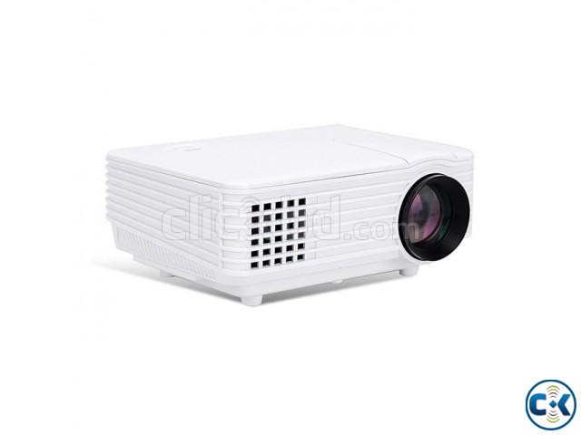 Mini RD-805 LED Projector With Built in TV Card | ClickBD large image 1