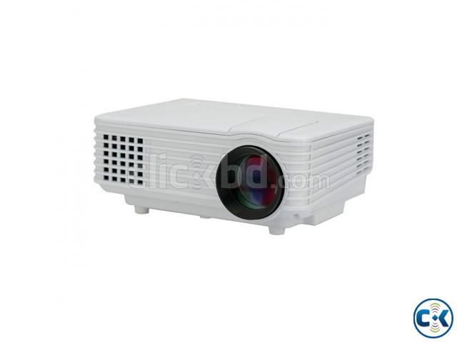 Mini RD-805 LED Projector With Built in TV Card | ClickBD large image 2