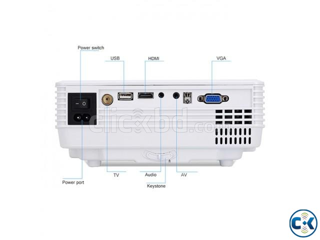 Mini RD-805 LED Projector With Built in TV Card | ClickBD large image 3