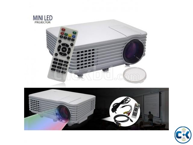 Mini RD-805 LED Projector With Built in TV Card | ClickBD large image 4