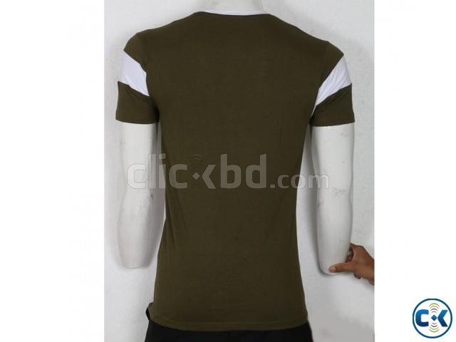 Men s Short Sleeve T-Shirt | ClickBD large image 4