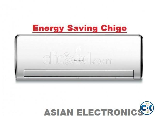 Energy Saving CHIGO 1 Ton Split ir conditioner AC Warrenty | ClickBD large image 0