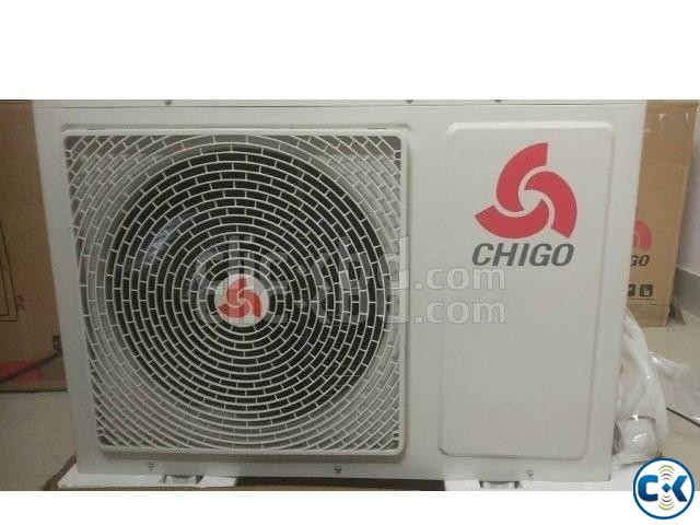 Energy Saving CHIGO 1 Ton Split ir conditioner AC Warrenty | ClickBD large image 1