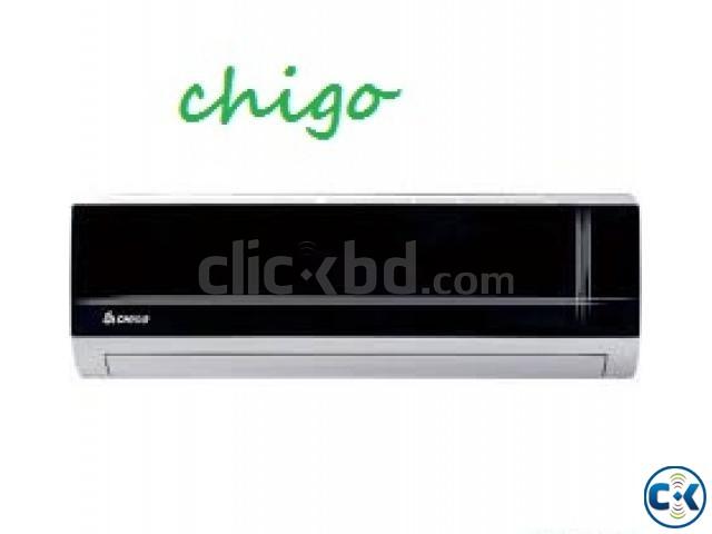 CHIGO 2 TonBlack Mirror Split type conditioner AC WARRENTY | ClickBD large image 0
