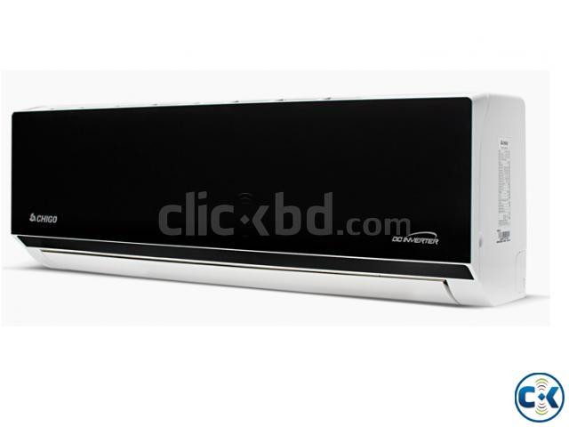CHIGO 2 TonBlack Mirror Split type conditioner AC WARRENTY | ClickBD large image 1