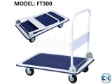 HEAVY DUTY 300 KG Foldable Platform Trolley