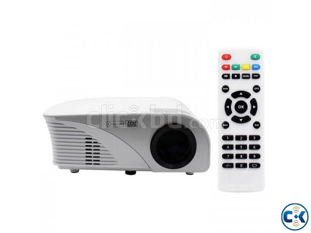Mini LED Projector RD-805B with TV New  | ClickBD large image 0
