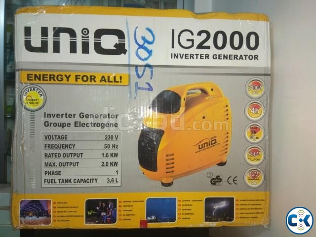 Inverter Generators 2.0KW | ClickBD large image 0