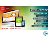 Dynamic Website Development 40 off