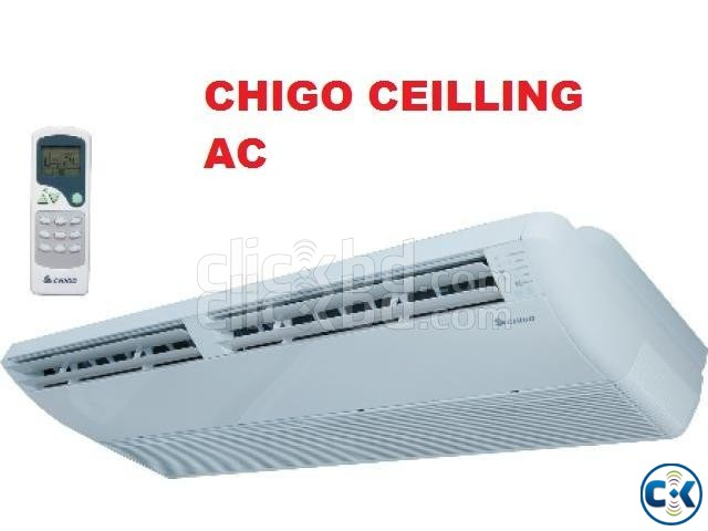 3 ton CHIGO ceilling cassette type AC | ClickBD large image 0