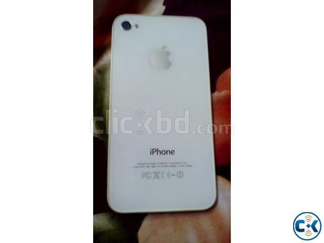 Iphone 4 16gb white | ClickBD large image 0