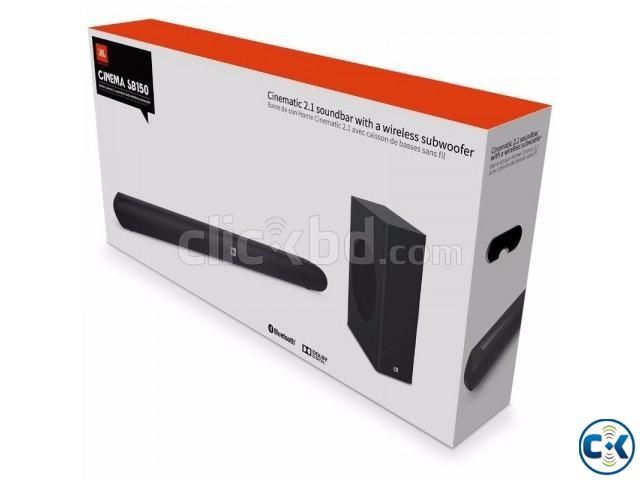 JBL Cinema SB150 2.1 Soundbar WiFi Home Speaker System | ClickBD large image 1