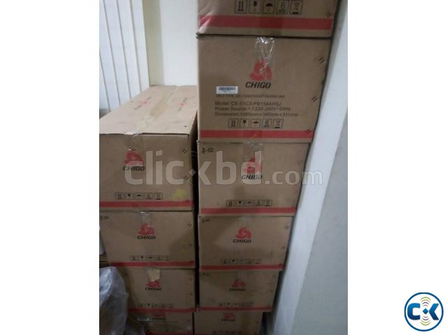 Energy Saving CHIGO 1.5 Ton Split ir conditioner AC | ClickBD large image 1