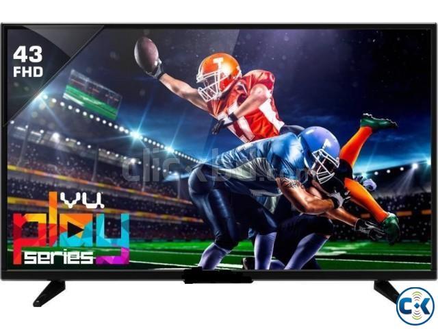 Nice View 43 Flat Full HD 1080p USB HDMI Smart Television | ClickBD large image 0