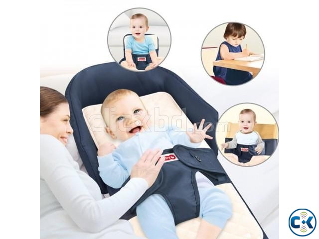 4in1 multifunctional Baby Bed Sofa Chair Portable Foldable | ClickBD large image 0