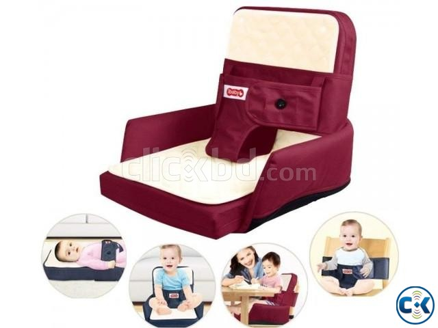 4in1 multifunctional Baby Bed Sofa Chair Portable Foldable | ClickBD large image 4