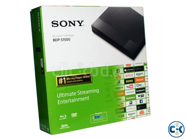 SONY Blu-ray DVD PLAYER S1500 | ClickBD large image 0