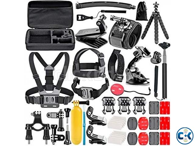GoPro Accessories Kit Set with Bag | ClickBD large image 0