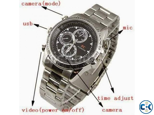 Spy Camera Watch QBHH  | ClickBD large image 2