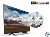 Sony KD-X8000E 4K 49 Voice Search Android Smart LED TV