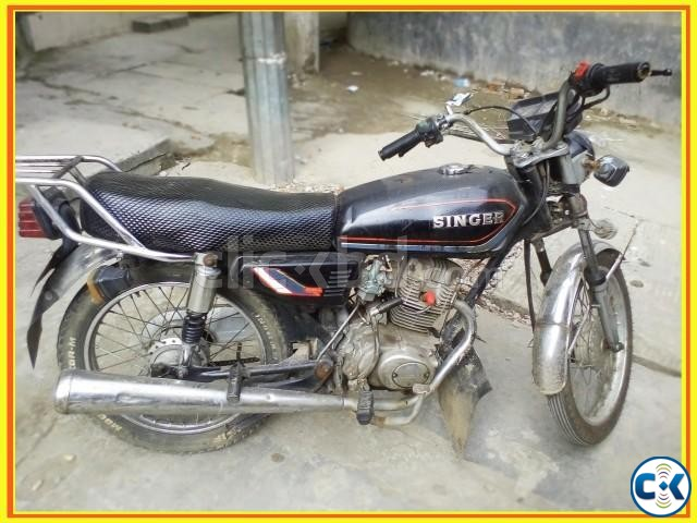 Cheap used motorcycle for sale in Dhaka under BDT.40k | ClickBD large image 0