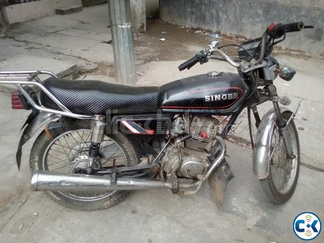 Cheap used motorcycle for sale in Dhaka under BDT.40k | ClickBD large image 1