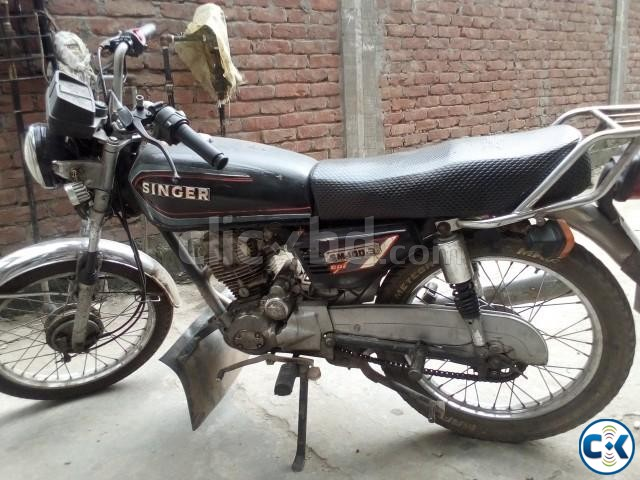 Cheap used motorcycle for sale in Dhaka under BDT.40k | ClickBD large image 2
