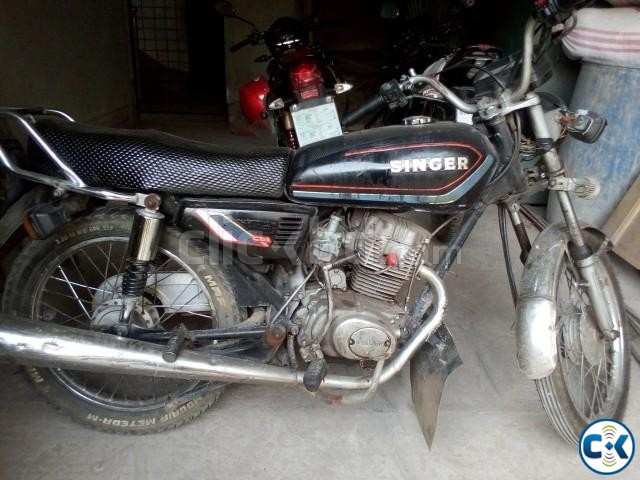 Cheap used motorcycle for sale in Dhaka under BDT.40k | ClickBD large image 3