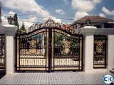 SS MS Steel Metal Engineering Workshop Gate Make by Steel